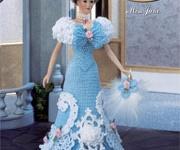 Poppe - Barbie - Klere - Hekel & Brei
