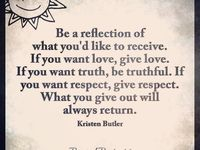 """Word. / Like I always say, """"treat others the way you want to be treated"""" it's that simple"""
