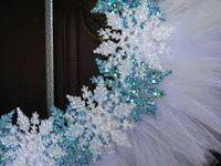 Winter wreath crafts!