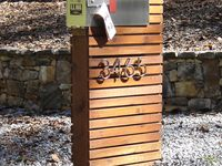 Mailbox With Welded Chain Post Diy Yard Yard Art Welding Projects