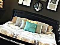 Chocolate Brown theme for bedroom