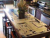 Ideas for recycling wood palettes and other oddments  ..drift wood, old furniture,doors, branches, tree trunks