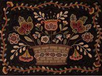 Wool stuff--rugs, pennyrugs & more
