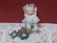 """Miniature dolls made by dollmakers other than me! My dolls may be viewed on """"My Own Work"""" board."""