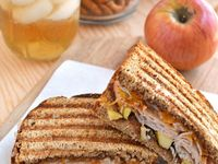 ... about Sandwich me in on Pinterest | Apple butter, Paninis and Brie