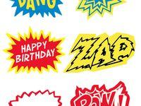 Kids parties - Superhero party