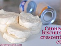 Canned biscuits, crescents, etc.