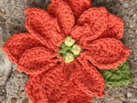 17 best images about CRAFT - CROCHET - KNIT FLOWERS on ...