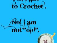 Crocheting Relieves Stress : ... about Crochet quotes. on Pinterest Me, Stress relief and Stress