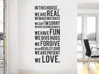 house quote decor