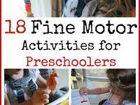 Homeschool Preschool / Fine Motor / Etc.