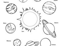 solar system coloring pages - 960×544