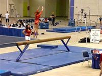 Gymnastics coaching