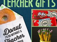 Teacher tags, gifts