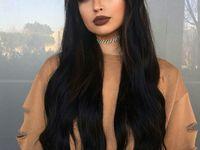 hair- brunette