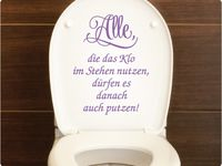 die besten 17 bilder zu toilettenaufkleber wc deckel sticker auf pinterest keep calm lounges. Black Bedroom Furniture Sets. Home Design Ideas