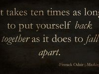 I love quotes! I search constantly for new quotes that inspire me. I hope they inspire you too.