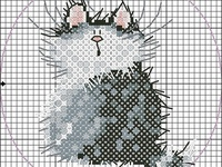 cross stitch or embroidery