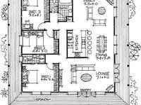 Планировка дома: лучшие изображения (55) в 2019 г.   House ...