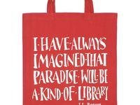 Libraries, bookstores, quotes and suggestions about the printed word