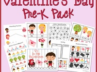 valentine's day theme pre k