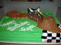 6th Birthday...Dirt Bike Party