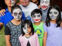 face painting Indonesia