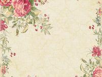 Background-Floral,Vintage