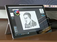 Artist Review Surface Pro 4 As A Drawing Tablet Parka Blogs Microsoft Surface Pro Drawing Tablet Tablet