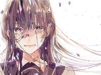 40 Ide Menangis Gadis Animasi Gambar Anime Seni Anime
