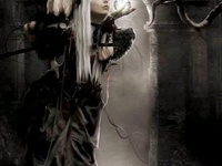 Gothic Art & Models. I pin to all 3 of my gothic boards randomly so add them all.
