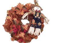 Fall / Fall wreaths, fall door hangers, fall decoration