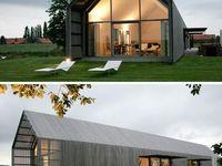domy stodoły