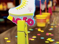 Roller Skate theme party