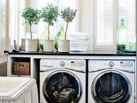 How To Make A Small Room Look Bigger Bless Er House Laundry Room Flooring Small Room Design Laundry Room Decor