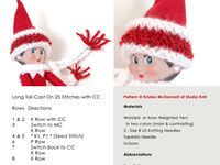Free Knitting Patterns For Elf On The Shelf Clothes : 1000+ images about Elf On The Shelf Clothes..knitted ...