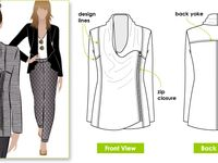 de ropa on Pinterest | Molde, Sewing Patterns and Pants Pattern
