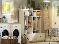 1000 images about laundry room ideas on pinterest for Pottery barn laundry room