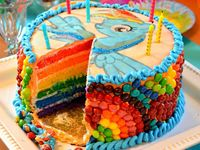 Prance into Ponyland for My Little Pony party ideas from invitations, decorations and party favors to party games, cakes and party food. Check out our Rainbow Party Ideas board too for more ideas.