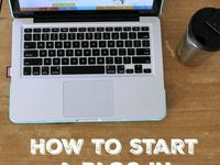 How to start a blog / All about How to start a blog