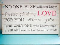 For My Love's