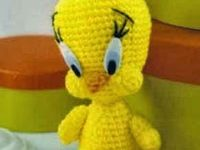 Amigurumi Tweety Bird : 1000+ images about piolin en crochet on Pinterest Tweety ...