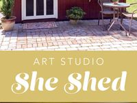 1000 images about she shed on pinterest