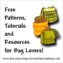 Links to FREE tutorials, patterns, and instructions for making bags, purses, and totes
