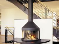 1000 images about wood burning stoves on pinterest - Mid century modern wood stove ...