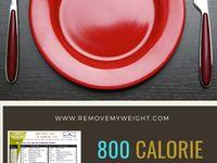 21 Best 800 calories a day menus ideas | 800 calorie diet, 800 ...