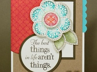 Close To My Heart cards, pages & projects