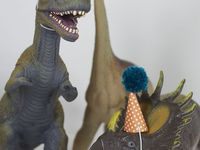 Jace Dino Or train birthday