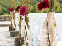 Weddings-Aisle Arrangements