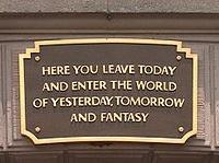 Disneyland, Universal and Knottsberry.